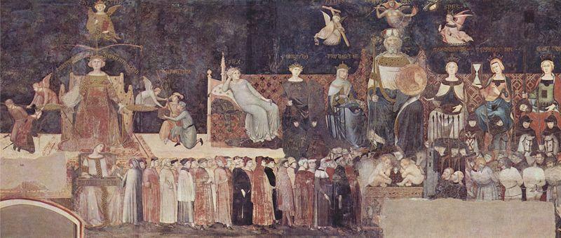 Ambrogio_Lorenzetti Alegoria dobrych rządów