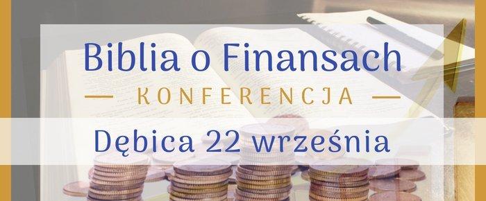 Biblia o Finansach Konferencja Dębica