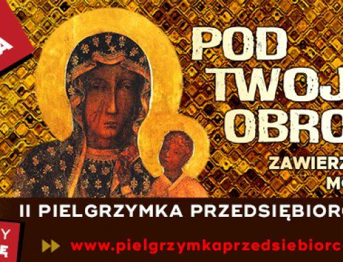 """Zaproszenie na """"II Pielgrzymkę Przedsiębiorców"""". Jasna Góra, 4października 2020 r."""